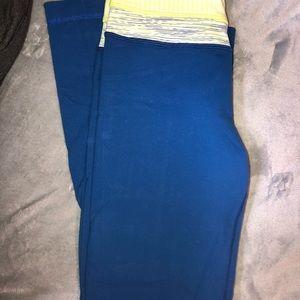 Blue Lulu lemon pants